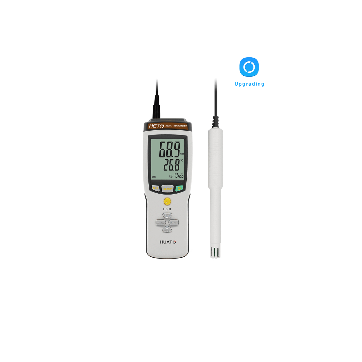 HE815-TH Multi-channel Handheld Temperature Humidity Data Logger
