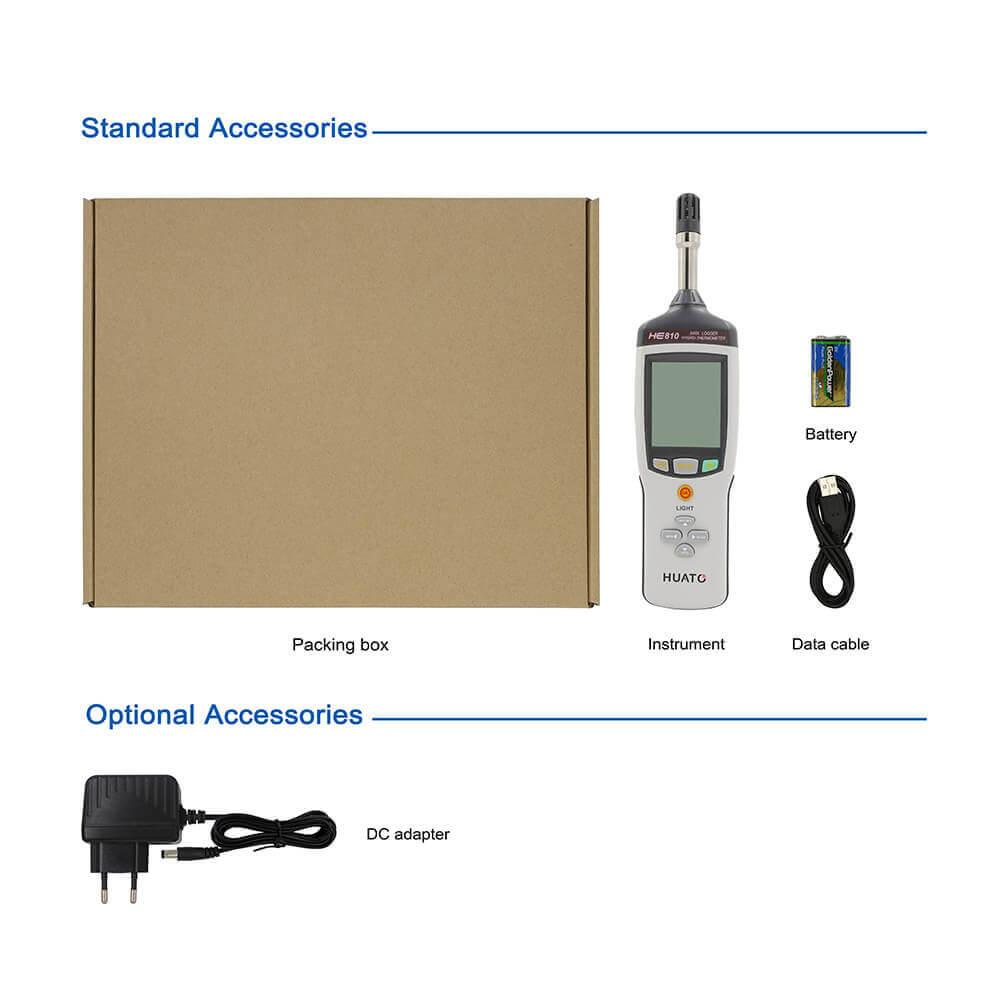 HE710-TH Series Handheld Thermometer Hygrometer