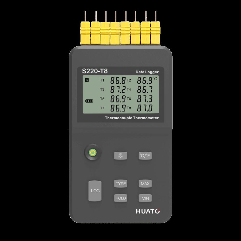 S220-T8 Multi-channel Handheld Logger-01