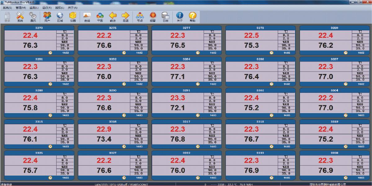 S700 Series WIFI Wireless Logger-503