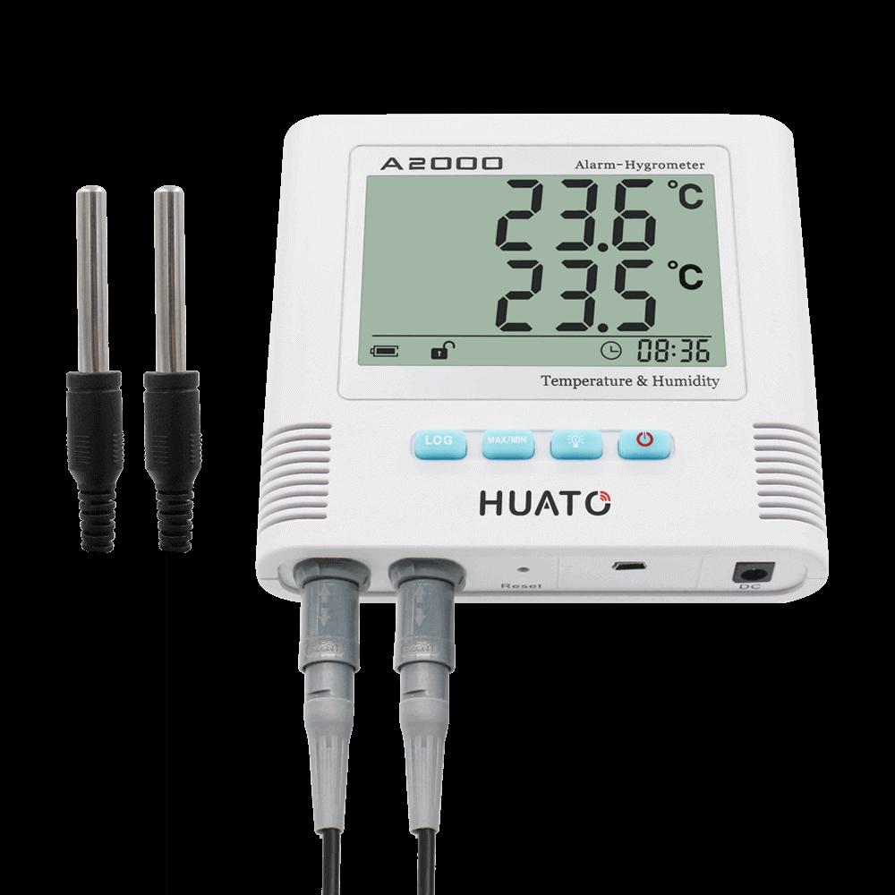 A2000-TH Sound & Light Alarm Hygro-thermometer