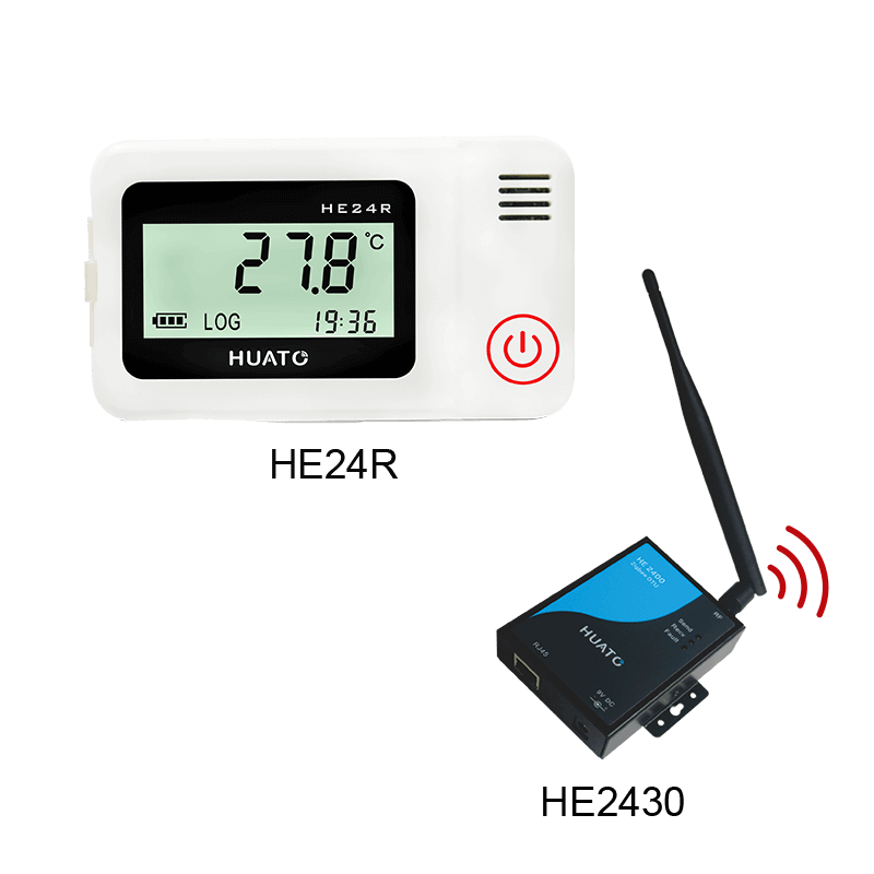 HE24R Wireless Temperature And Humidity Recorder
