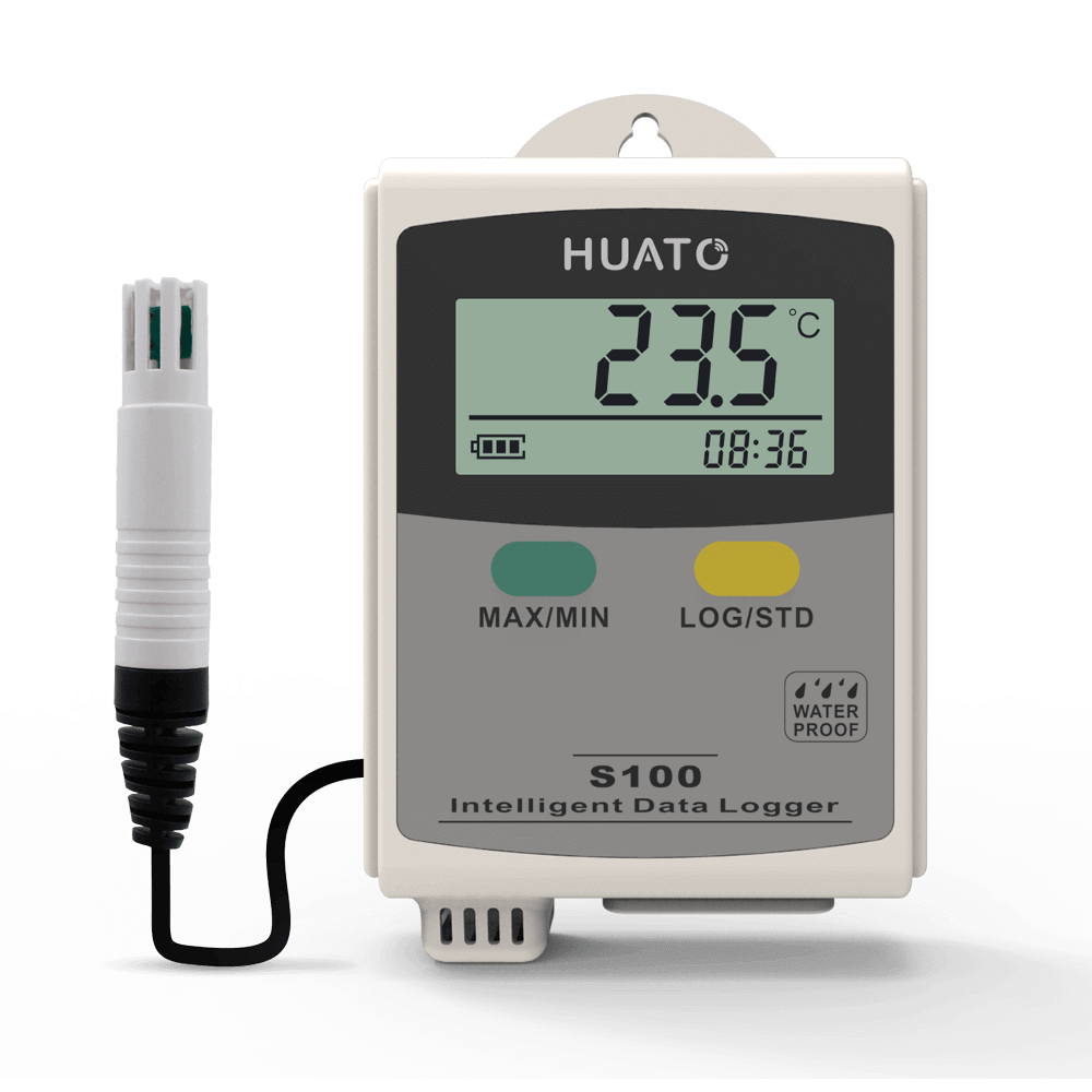 S100-EX Temperature and Humidity Data Logger