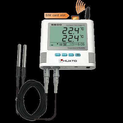 S500-DT-GSM (External dual temperature sensors)