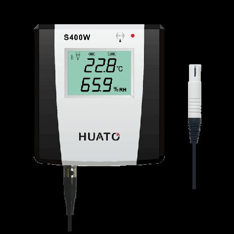 Model: S400W-EX Sensor Type:External sensor Range:-40~85℃/0~100%RH