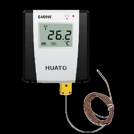Model: S400W-DT Sensor Type:Dual channel sensor  Range:-40~85℃/0~100%RH