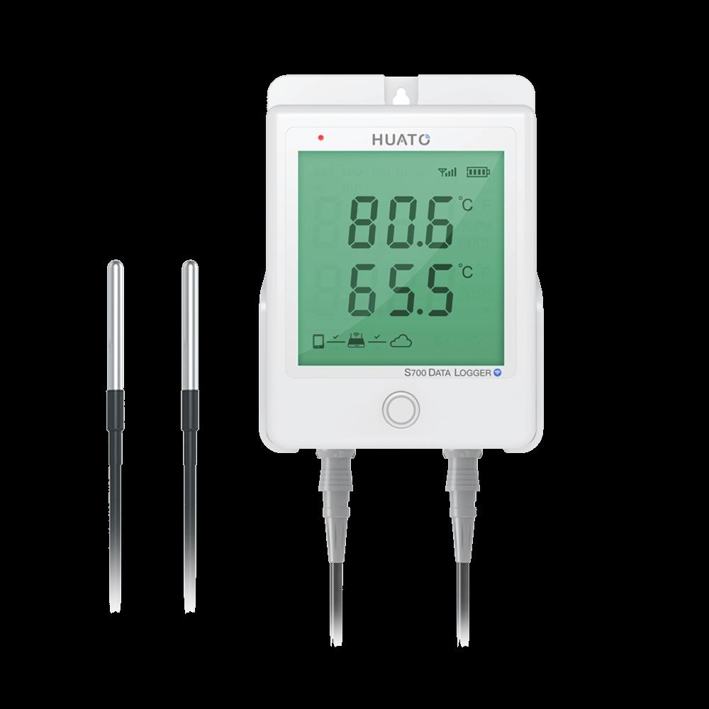 S700-DT-WiFi External dual temperature data logger