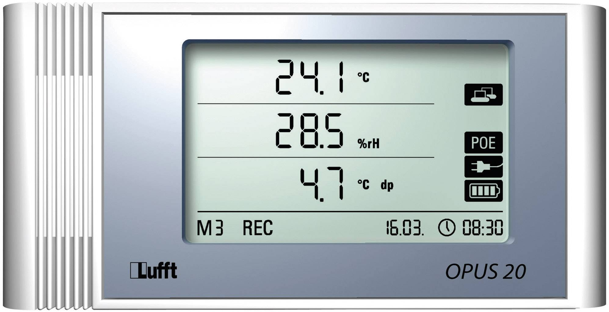 temperature and humidity data logger mobile app